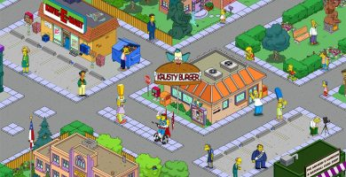 App juegos The Simpsons
