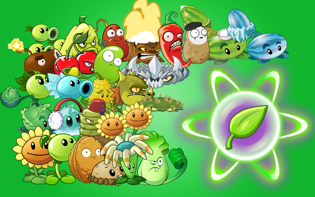 Juego Plants vs Zombies