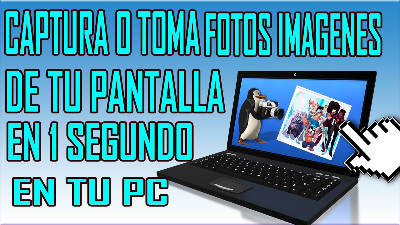 Tutorial: tomar captura de pantalla en Windows 8