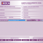 Software para confeccionar cartas documento