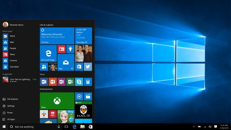 Recursos: escanear y reparar el disco duro en Windows 10
