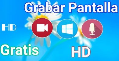 Alternativas de programas para grabar pantalla en Windows 10
